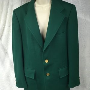 Vintage 1960's Curlee Blazer Sports Coat Size 44